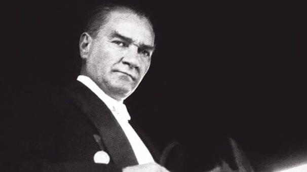 Founder of the Turkish Republic, Mustafa Kemal Atatürk.